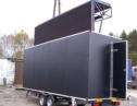 Mobile Big LED screen on a trailer