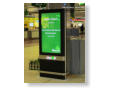 Single sided 55inch Digital Totems for Dublin Airport